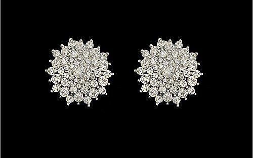 Starburst Clip Earrings