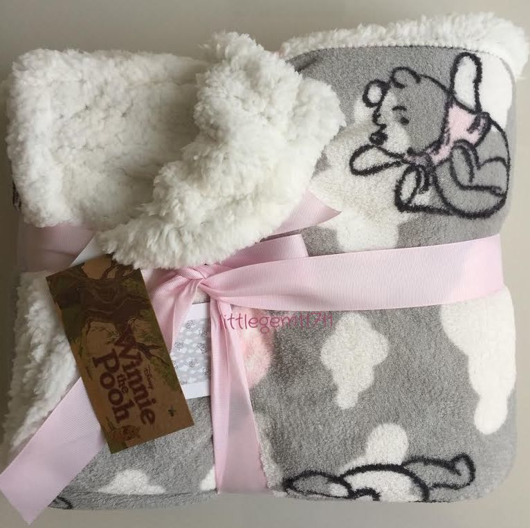 Primark Disney Winnie The Pooh Fleece Throw Soft Amp Cosy