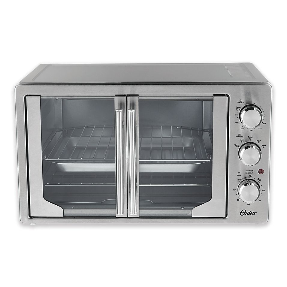 Oster French Door Oven With Convection Stainless Steel French