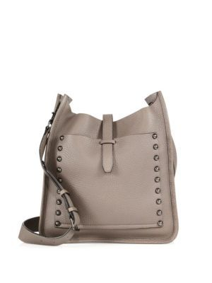 c67117a424 REBECCA MINKOFF Unlined Leather Feed Bag.  rebeccaminkoff  bags  shoulder  bags  leather  crossbody