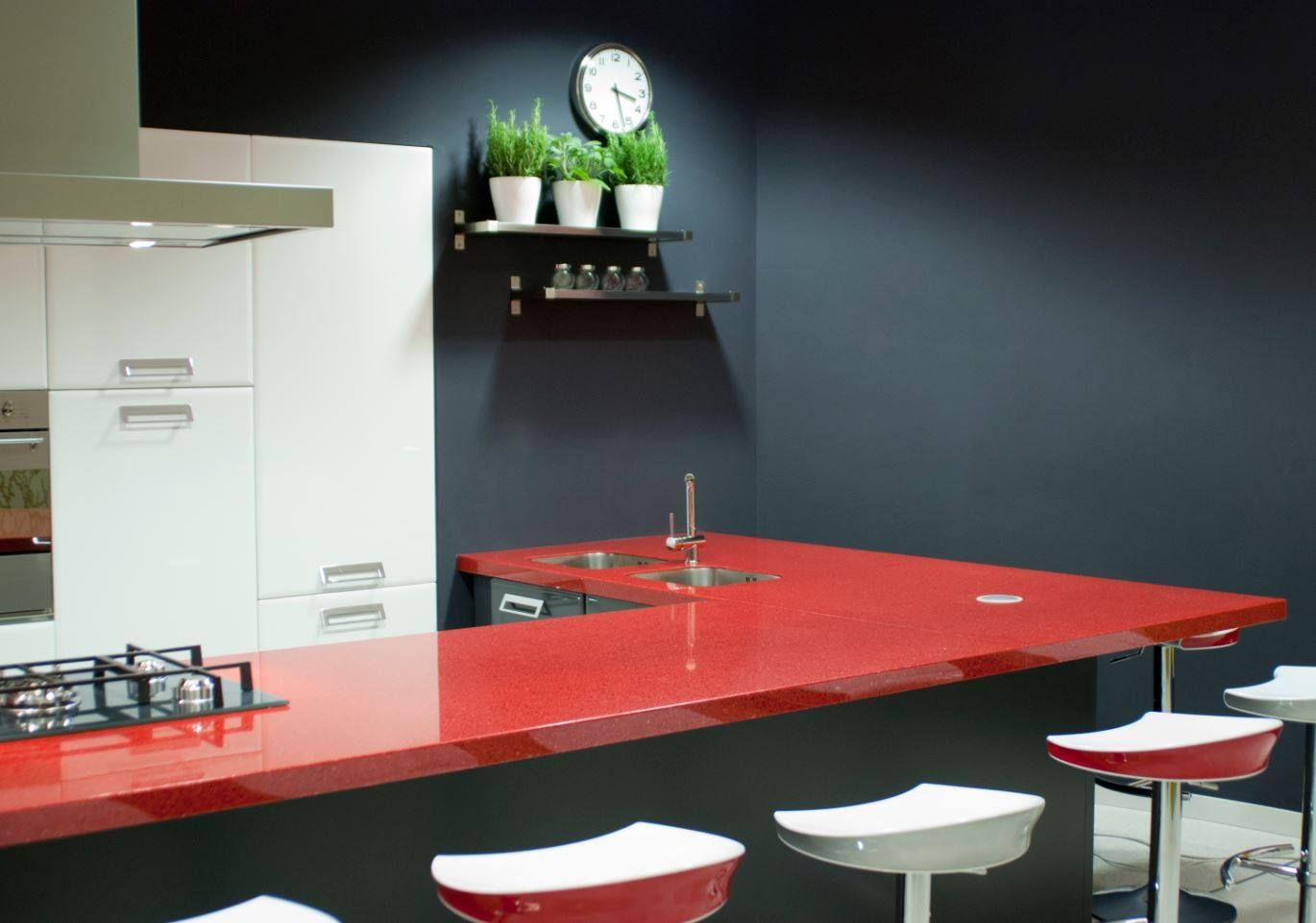 Black Recycled Glass Countertops Red And Black Recycled Glass Countertop Kitchen