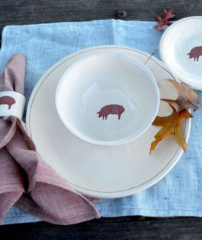 HERITAGE PIG DINNERWARE SET | Butcher and Baker & HERITAGE PIG DINNERWARE SET | Butcher and Baker | Cute Piggies ...