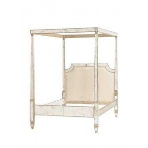 Louis Mirrored Four Poster Canopy Bed Prices From Fashionista Bedroom Beautiful Bedrooms My Home Design