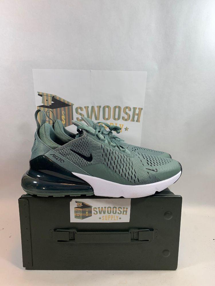 224f55710b Nike Air Max 270 Clay Green Black Deep Jungle AH8050 300 Men's Size 10.5 # Nike #Shoes