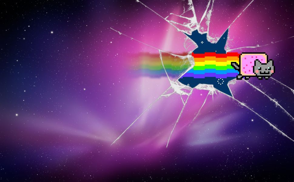 Nyan Cat Hd Wallpaper Wallpapers Pinterest Nyan Cat Cat
