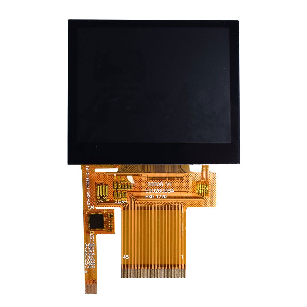 """Serial,SPI 5/"""" 5.0 inch TFT LCD Module Display w//Capacitive Touch Panel,Tutorial"""