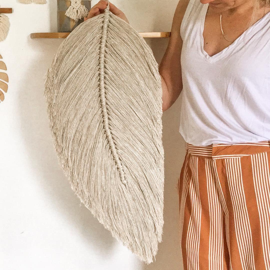 Venti Macram 233 Feather In Linen �� Macram 233