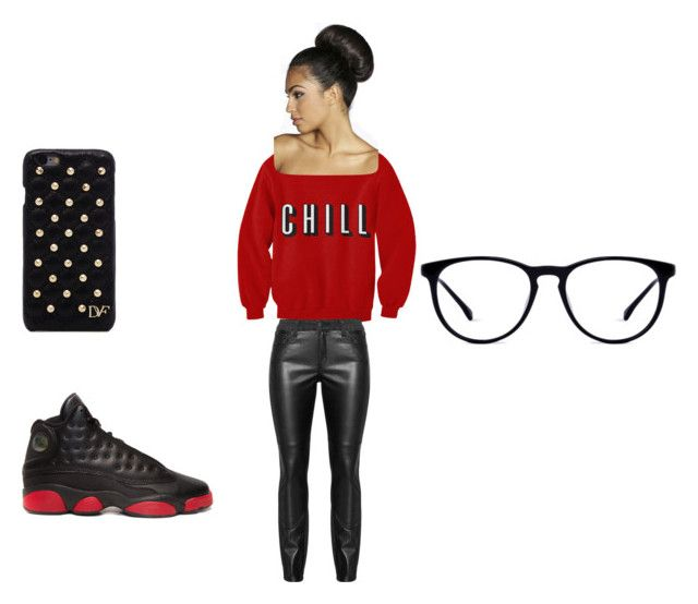 """Chill"" by imaniray-1 on Polyvore featuring Diane Von Furstenberg and Boohoo"