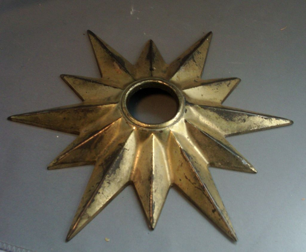 bronze hand medallion store brass vintage painted royal turquoise look exquisite ceiling