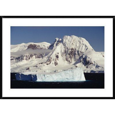 Global Gallery 'Icebergs Near Northern Tip of The Antarctic Peninsula' Framed Photographic Print Size: