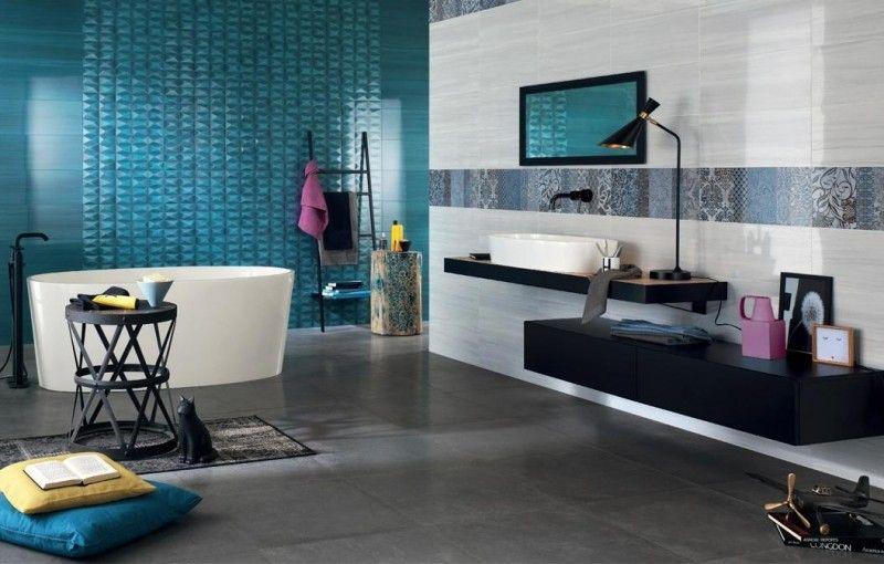 colonne salle de bain bleue gris - Recherche Google pièces de la