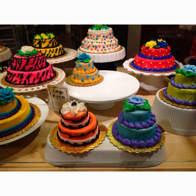 Colorful cakes at Wegmans Food Pinterest Colourful cake Cake