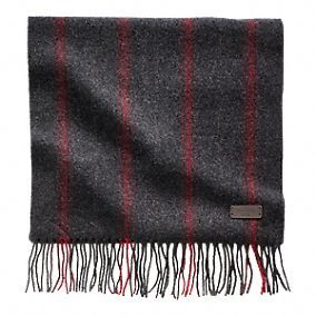Wool All Over Ticking Stripe Scarf #coach