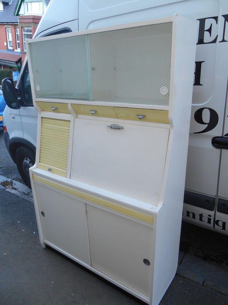 Vintage 1950's Hygena Kitchen Cabinet | Vintage kitchen cabinets ...