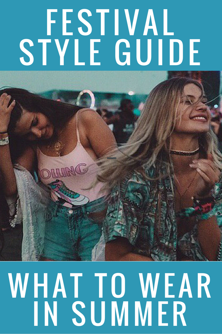 The Summer Music Festival Fashion and Beauty Guide. The Do's and Don'ts on outfits, shoes, hairstyles and more.