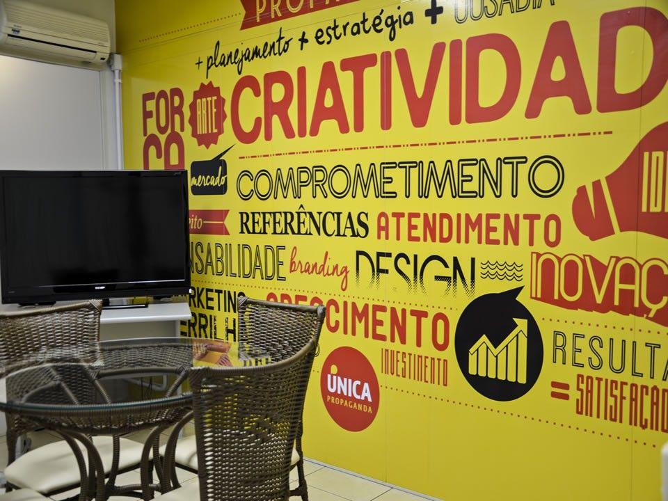 Sala de reuniões interna