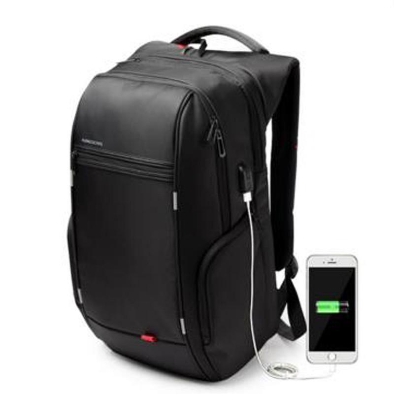 06faedd0f9 Kingsons 15″17″ Laptop Backpack External USB Charge Computer Backpacks Anti-theft  Waterproof Bags for Men Women in 2019