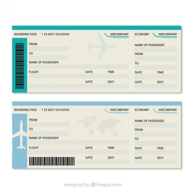 boarding pass template free great boarding pass template vector