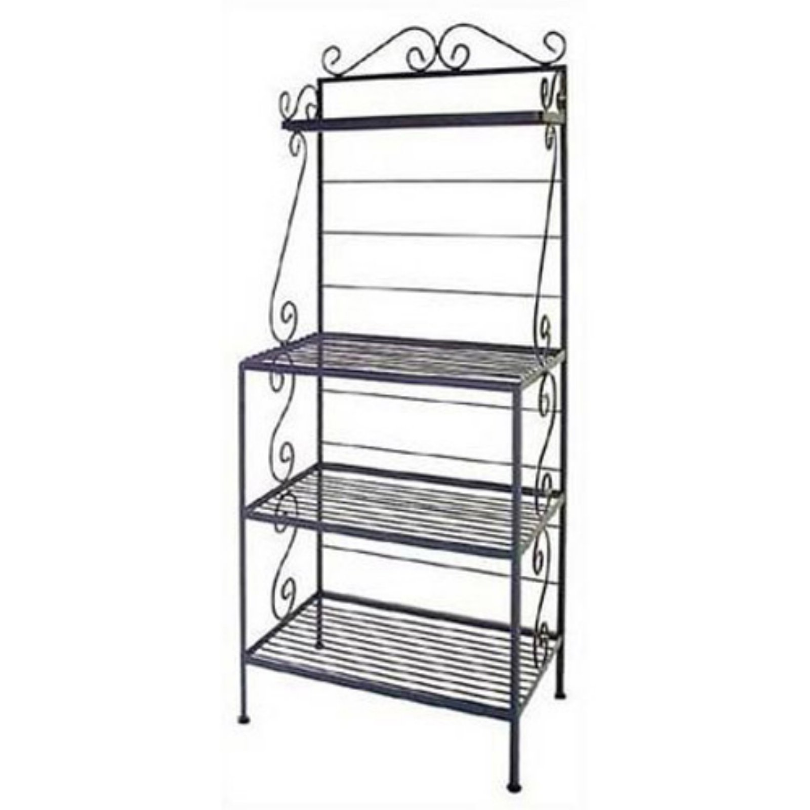Microwave Style Bakers Rack Bakers Rack Wire Shelving Wine
