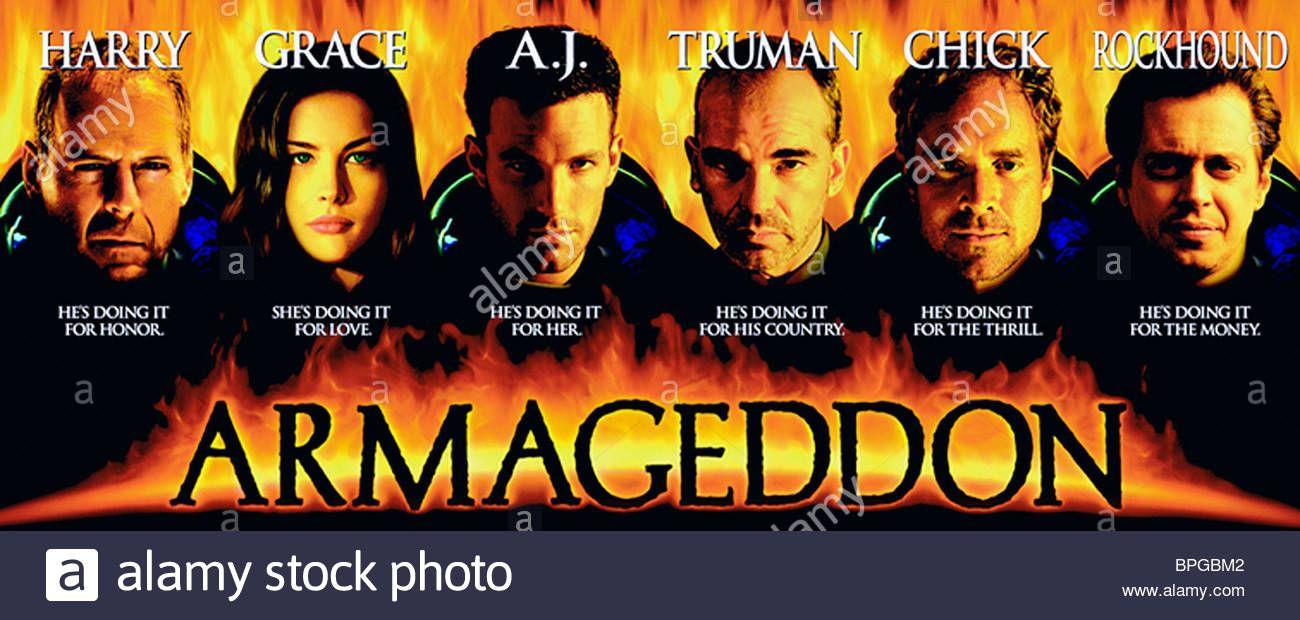 Armageddon Poster Science Fiction Movie Posters Imdb Movies