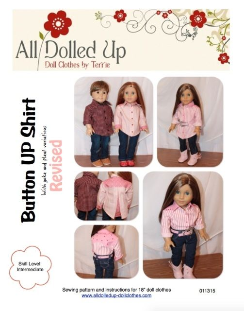 Doll clothes Patterns | American Girl Dolls | Pinterest