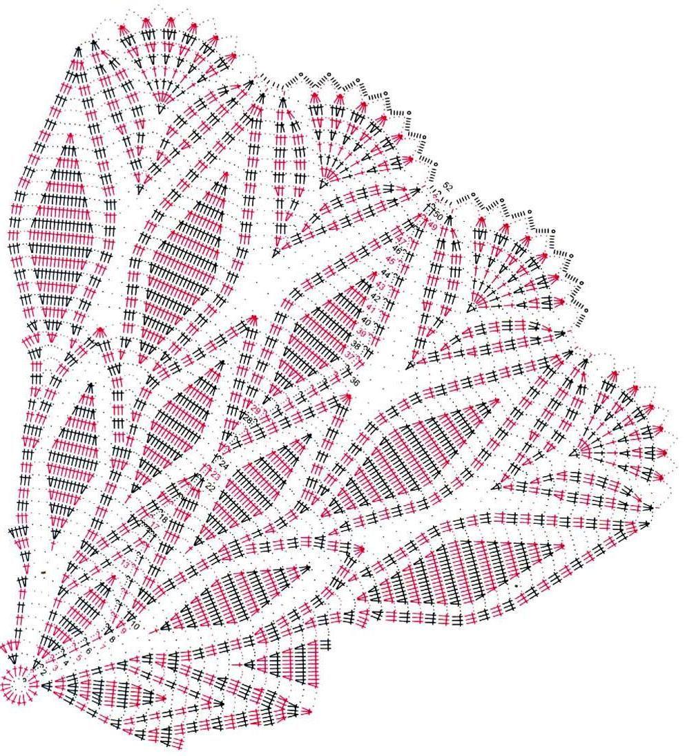 Ажурные салфетки крючком схемы картинки