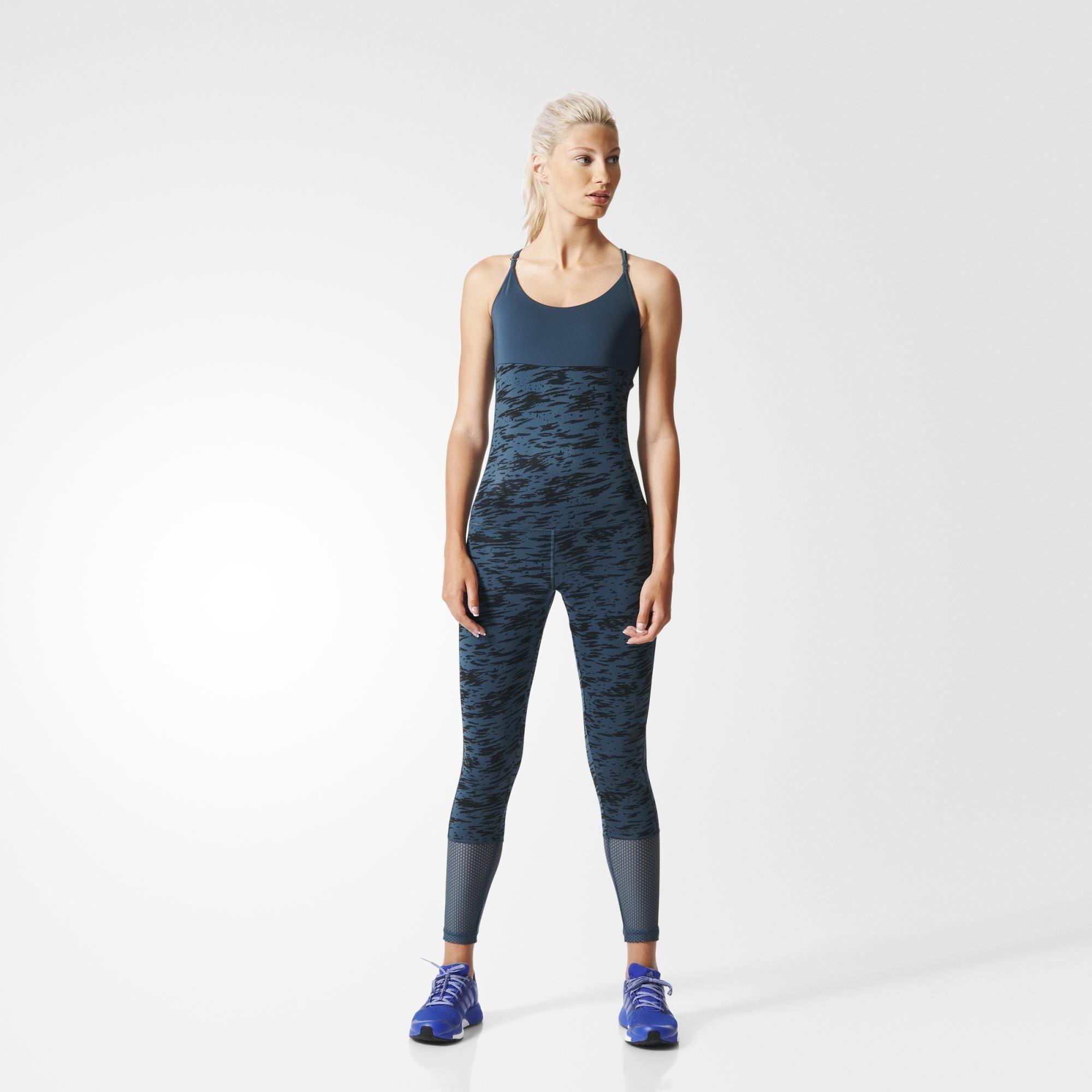 adidas Workout Catsuit - blau | adidas Deutschland | adidas ...
