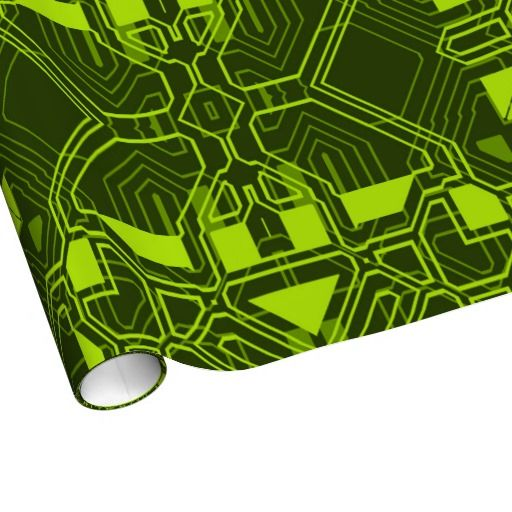 Techno 1 Wrapping Paper