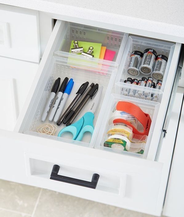 Emergency Drawer Extra Key Matches Lighter Batteries