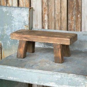 Strange Wooden Stool Display Riser Antiquefarmhouse In 2019 Squirreltailoven Fun Painted Chair Ideas Images Squirreltailovenorg