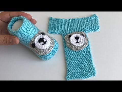 Çok kolay bebek patiği/Bebek patik modelleri/Bebek patik örnekleri/socks for baby/socks for baby boy - YouTube