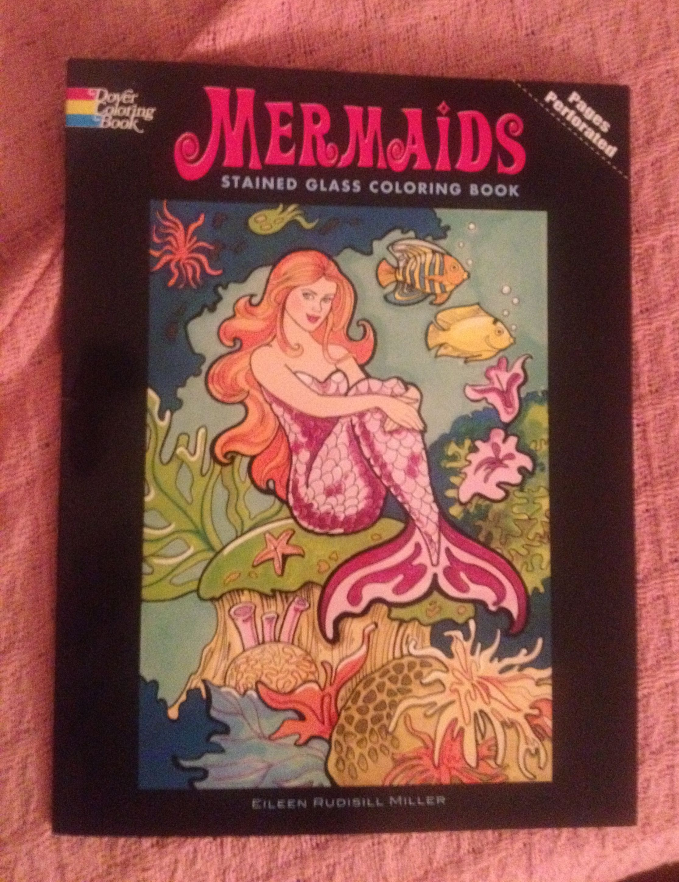 A Mermaid Coloring Book In My Care Package From Home Mermaid Coloring Book Coloring Books Mermaid Coloring