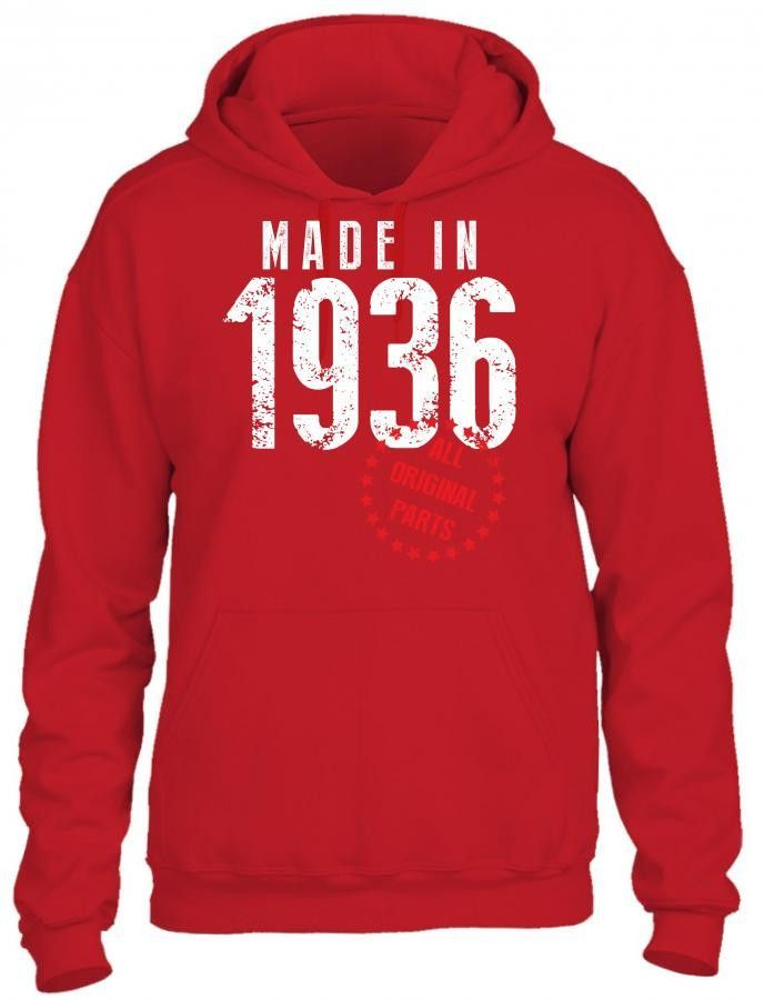 made in 1936 all original parts 1 HOODIE