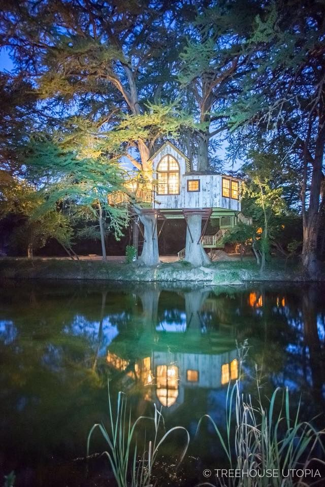 Sleep Among The Trees At This Enchanting Bed & Breakfast