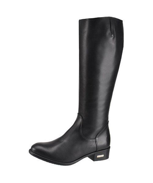 Kozaki Oficerki Karino Aspen 1109 076 F Black Damskie Kozaki Karino Boots Riding Boots Black