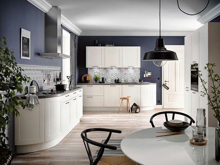 LOTUS weiss #häckerküchen #häcker #weisseküche #landhaus - landhaus modern