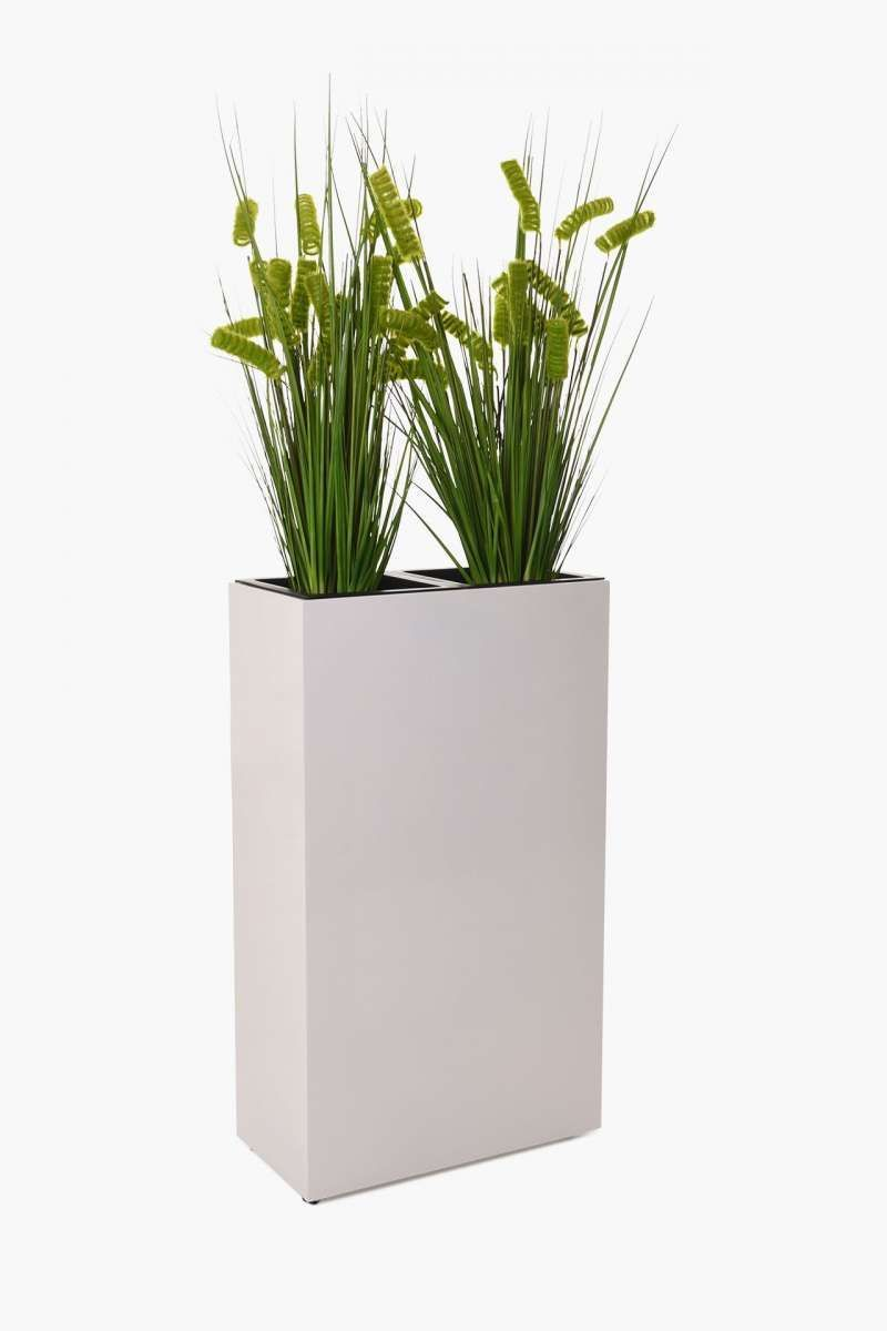 Set Of 4 Planters Room Divider Concrete Elemento Gray In 2020