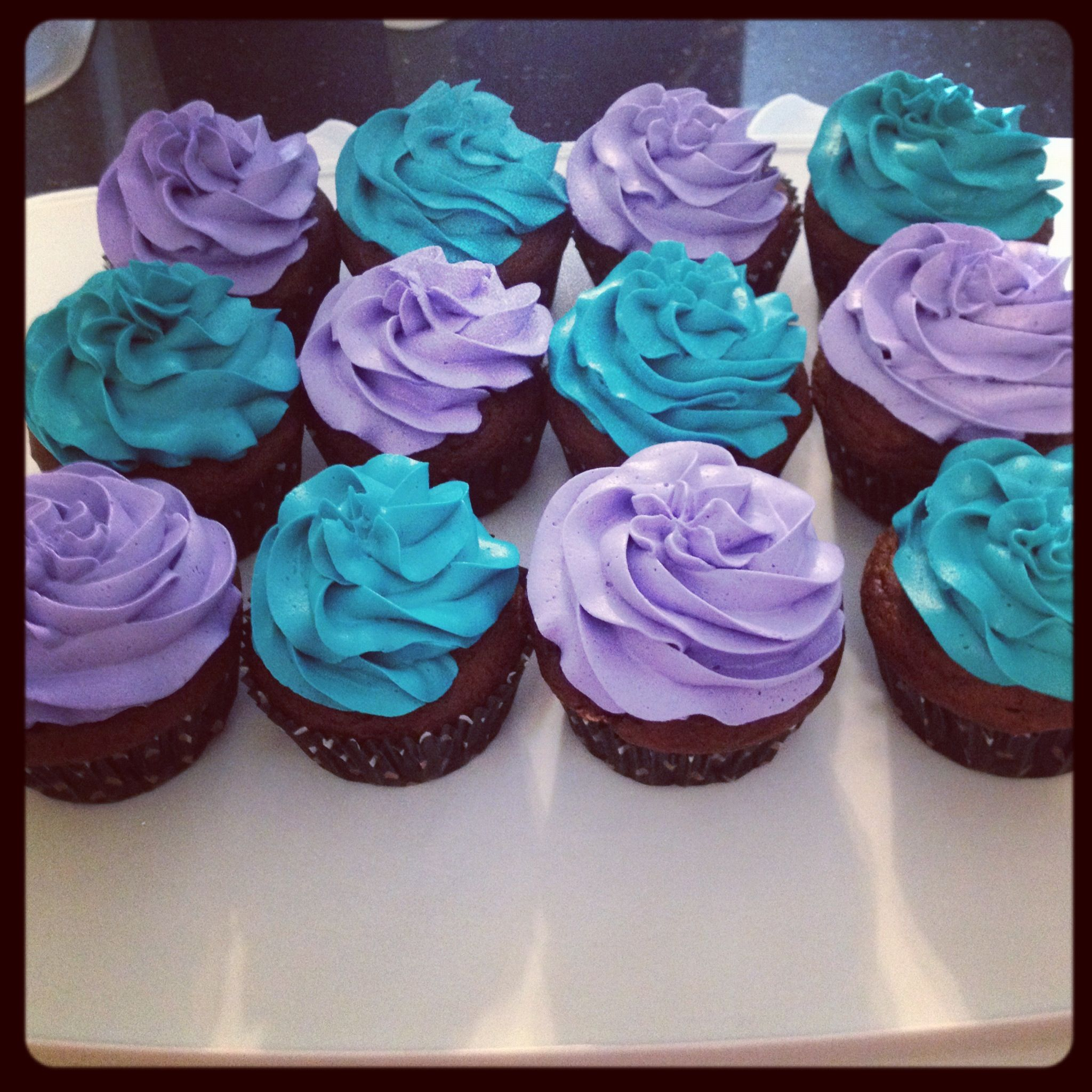 blue and purple cupcake wedding cakes blue and purple cupcakes my cake and cupcake creations 11953