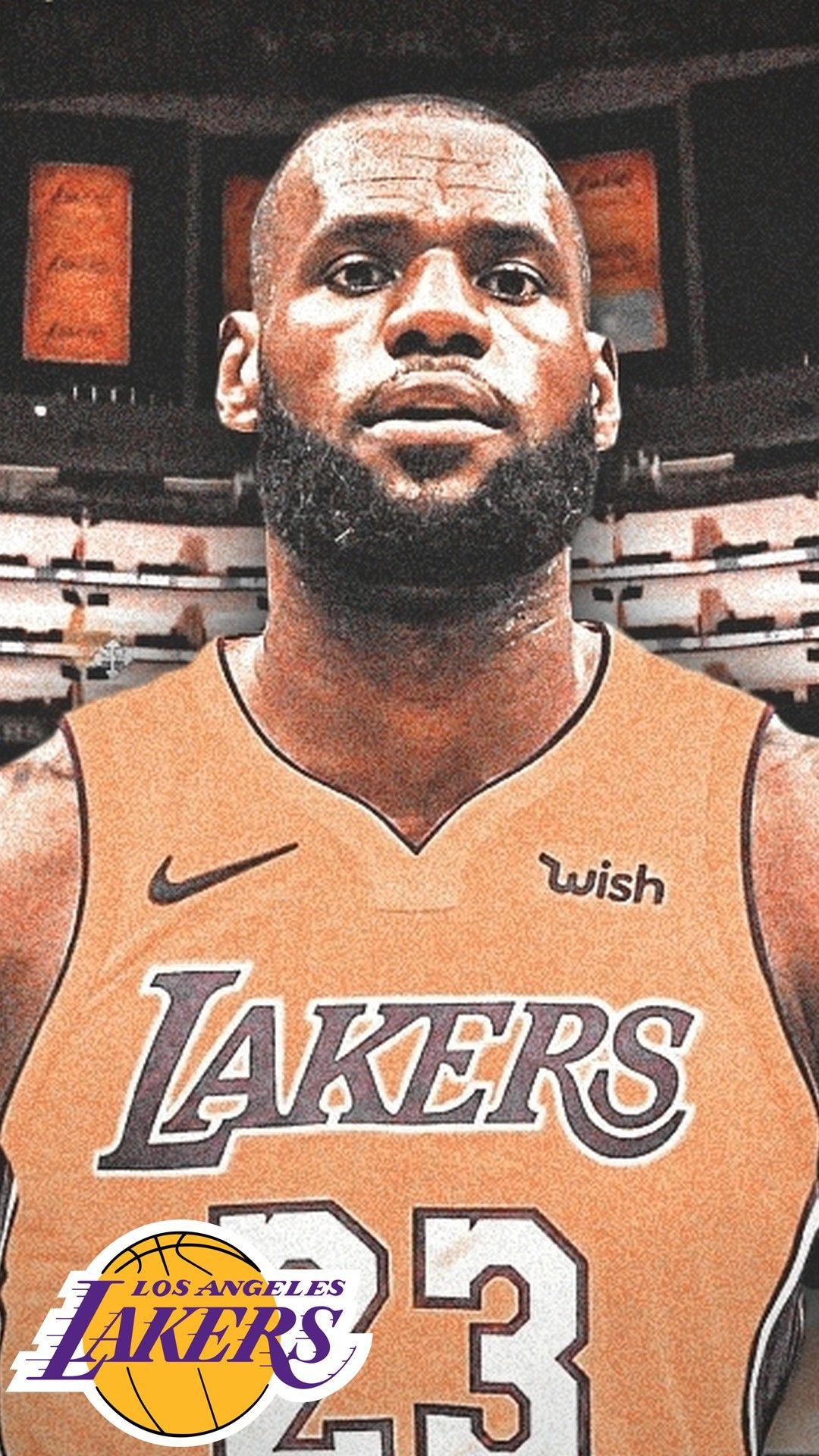 iPhone Wallpaper HD LA Lakers LeBron James Lebron james