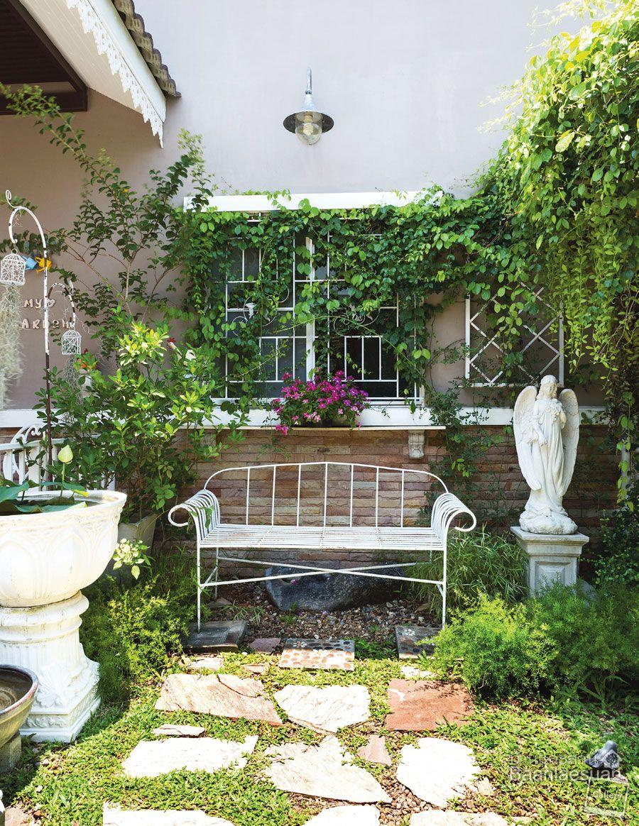 Www Baanlaesuan Com Home And Garden Outdoor Decor Outdoor Backyard garden ne demek