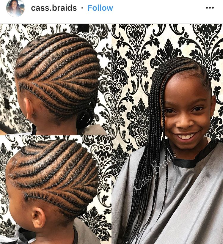 Pin By Jazzy S On Kids Hairstyles Braids For Kids Hair Styles Kids Braided Hairstyles