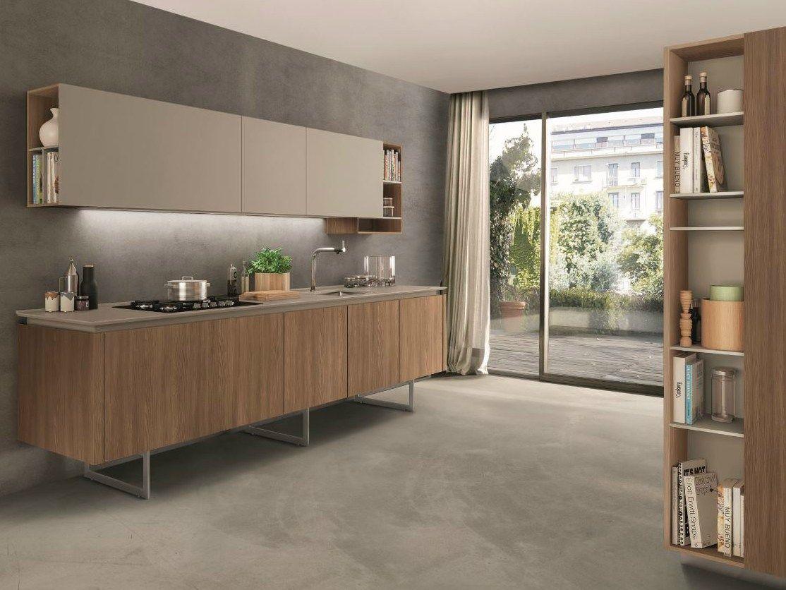 Cocina integral con península FILOLAIN by Euromobil | cocinas ...