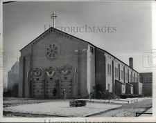 1965 Press Photo Immaculate Conception Church Of Willoughby Ohio