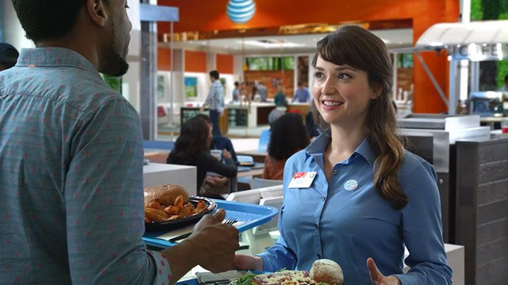At&t dating commercial girl