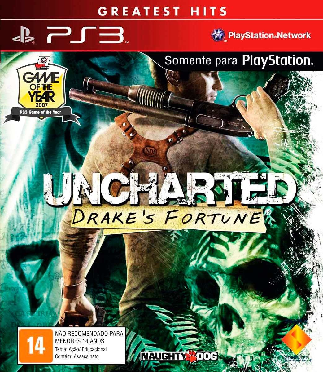 Uncharted 1 Drake S Fortune Game Of The Year Edition Loja De