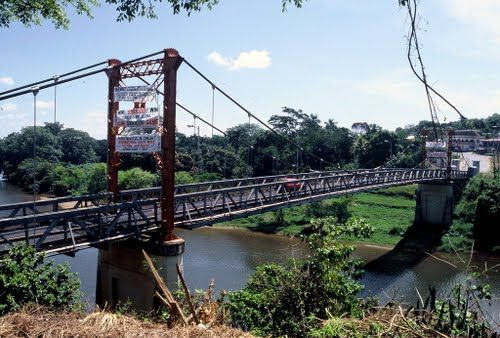 San Ignacio Belize | Panoramio - Photo of Belize San Ignacio Hawksworth Bridge