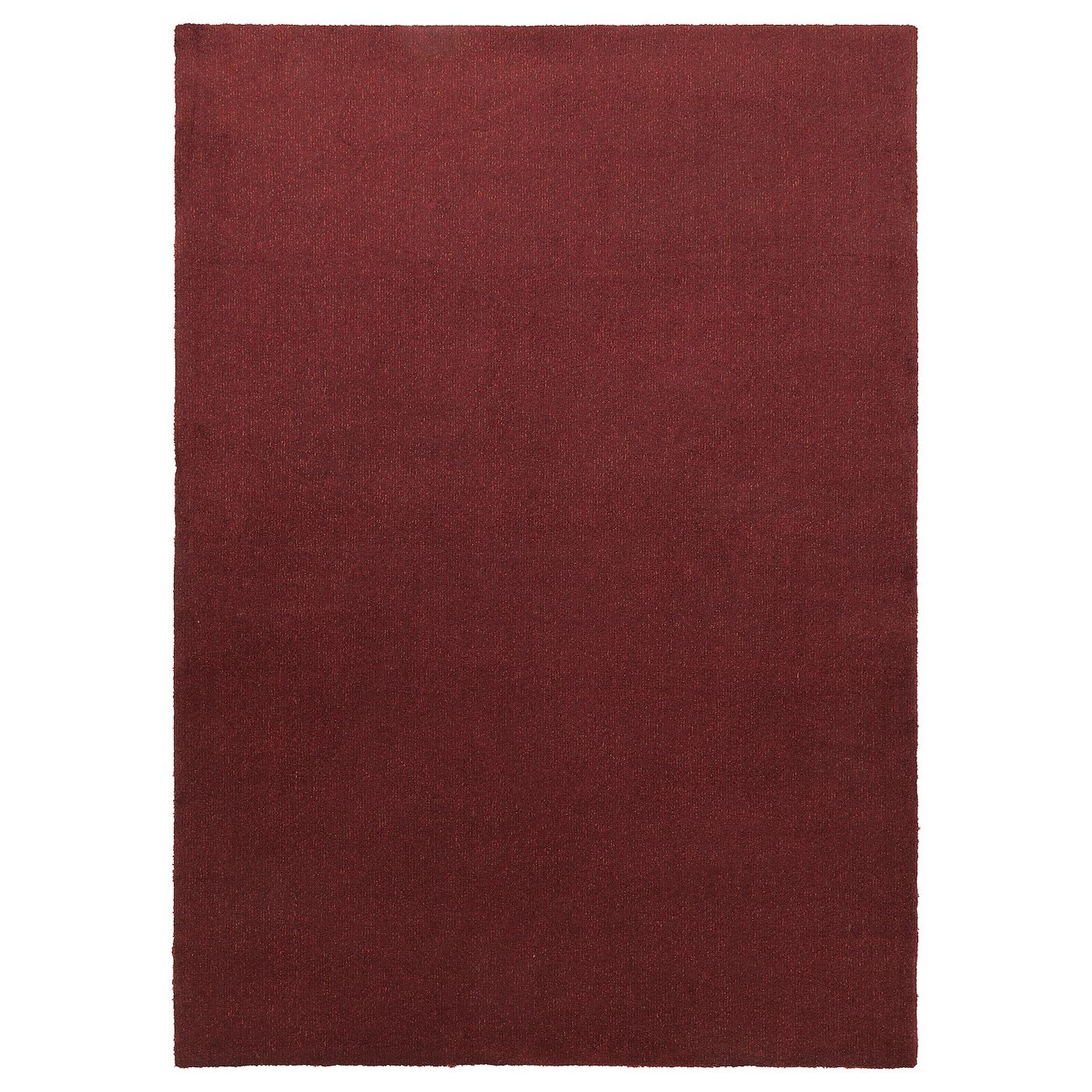 Tyvelse Teppich Kurzflor Dunkelrot 170x240 Cm Ikea Österreich In 2021 How To Clean Carpet Rugs Big Rugs