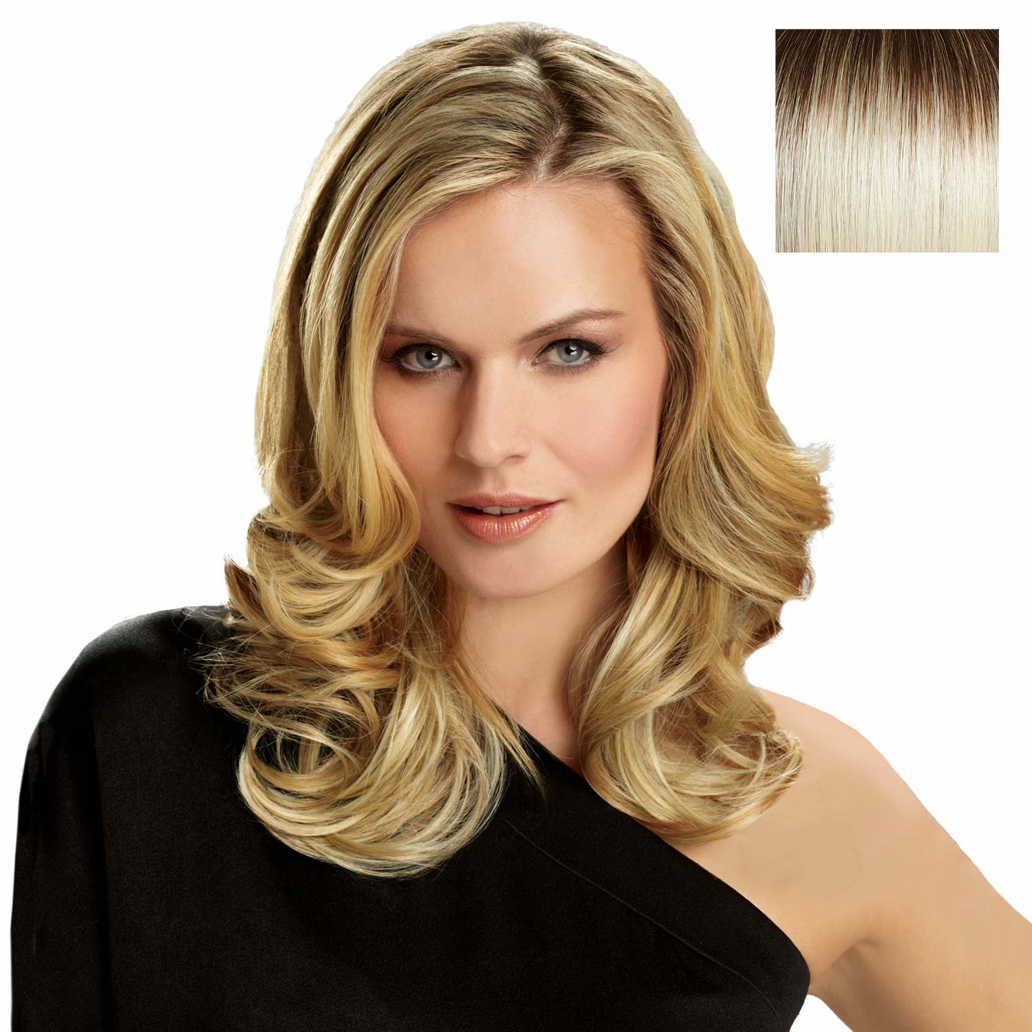 Hairdo 20 Inch Invisible Extension Ss Alabaster | Synthetic Hair Extensions