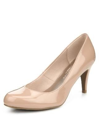 faca578b3b4 M S Collection Wide Fit Stiletto High Heel Court Shoes - Marks   Spencer