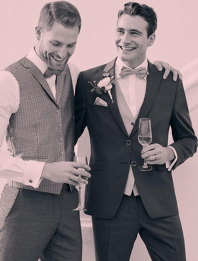 """Sagen Sie """"JA"""" zu ihrem perfekten Hochzeitsanzug – WILVORST ist der Spezialist f…"""